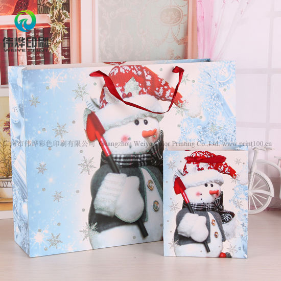 Wholesale Newest Paper Packaging Gift Bag with Custom Logo