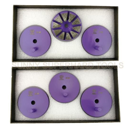 3 Inch 10 Seg 1 Pin Diamond Grinding Disc for Floor Grinder pictures & photos