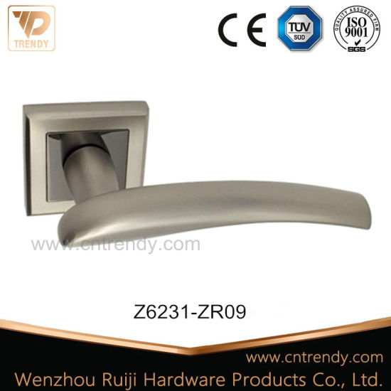Zinc Alloy Furniture Door Lever Handle with Prime Quality (Z6304-ZR06) pictures & photos