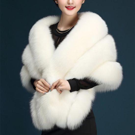 Faux Fur Stoles Wedding Wrap Bridal Accessories Winter Bolero Shwal