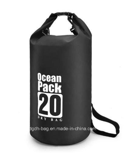 2021 Custom Logo PVC Tarpaulin Waterproof Dry Bag Ocean Pack Outdoor PVC Small Swimming Tarpaulin 20L 30L Dry Bag Waterproof Dry Bag