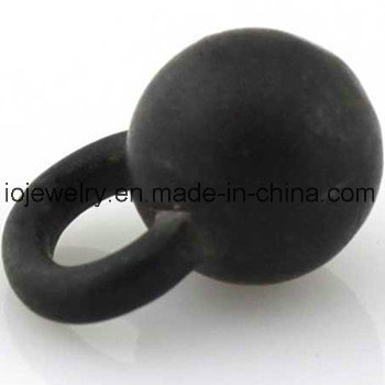 Different Color Plating Jewelry Round Loose Beads Stainless Steel