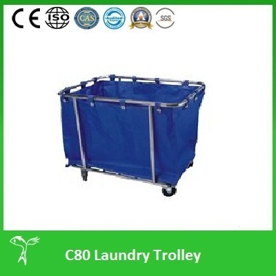 Professional Laundry Trolley, Professional Laundry Cart (C80) pictures & photos