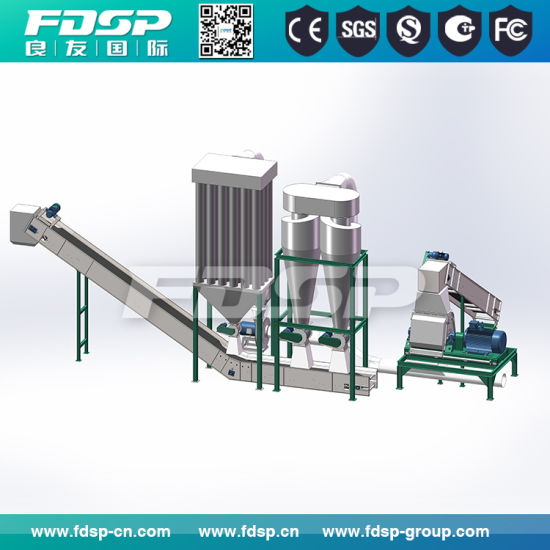Sawdust Pellet Plant Wood Pellet Mill for Sale pictures & photos