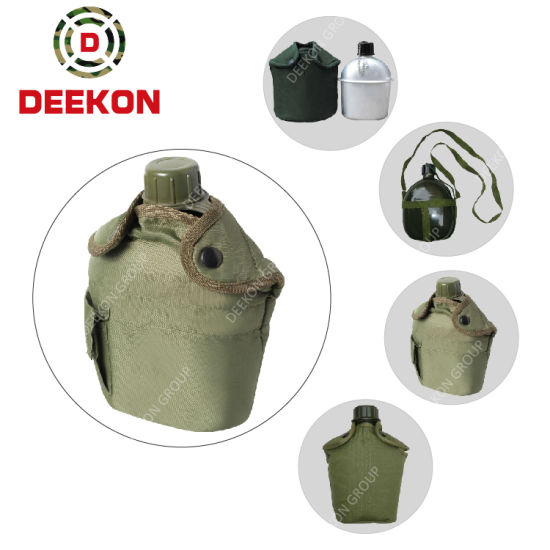 Universal Olive Green Army Canteen Military Water Bottle