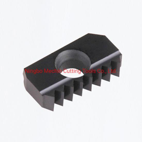 Nptf Dry Seal Thread Milling Insert/Solid Carbide Thread Insert