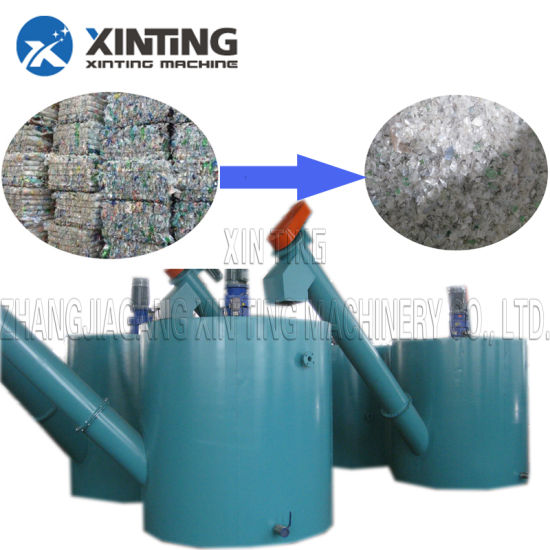 Pet Bottle Pet Flakes Pet Solid Recycling and Washing Line