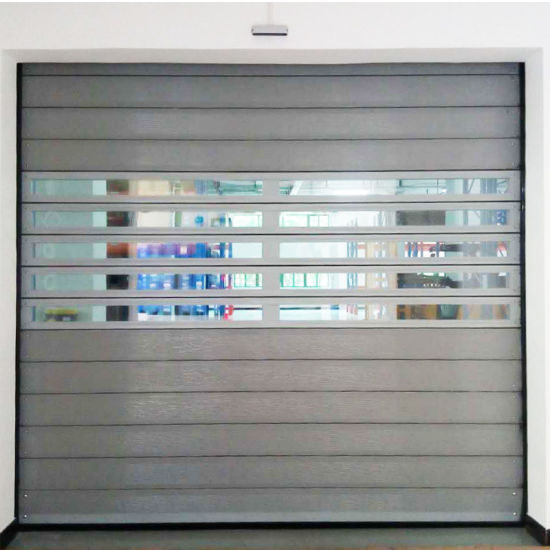 Automatic High Speed Roller Shutter Door With Aluminum Alloy