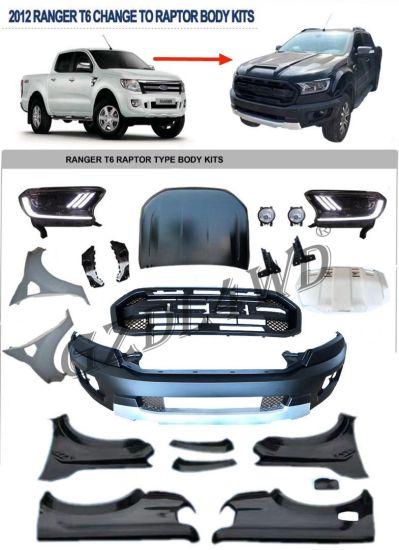 2012 Ranger T6 Wide Conversation Body Kits Upgrade to T8 2019 Raptor