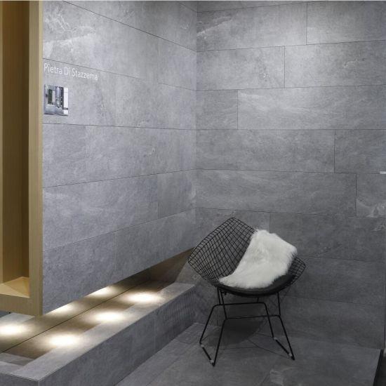 China 600*1200mm Bathroom Light Grey Granite Stone Floor/Wall Porcelain  Tiles - China Floor Tile, Porcelain Tile
