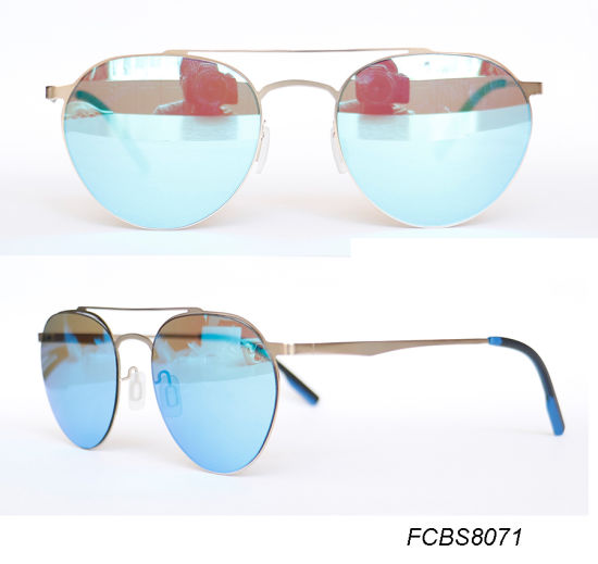 Italy Design Super Light with Nylon Lens Fashion Sunglasses pictures & photos