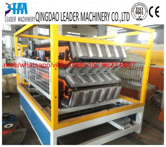 UPVC/PVC Plastic Spanish Tiles Roofing Sheet Extrusion Line pictures & photos