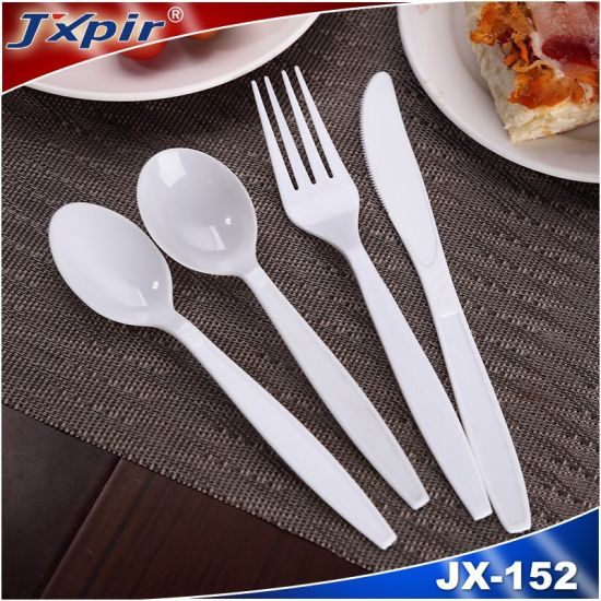 PS Disposable Plastic Cutlery (JX152)