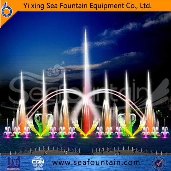 Interact Multimedia Music Fountain with Submersible Pump pictures & photos