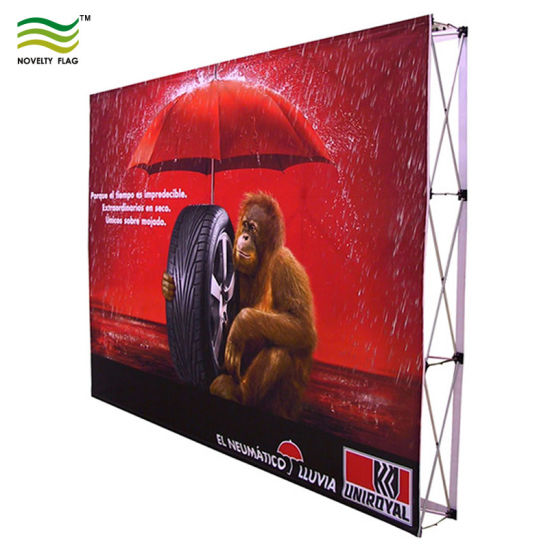 Velcro Pop up Fast Straight Exhibition Displays pictures & photos