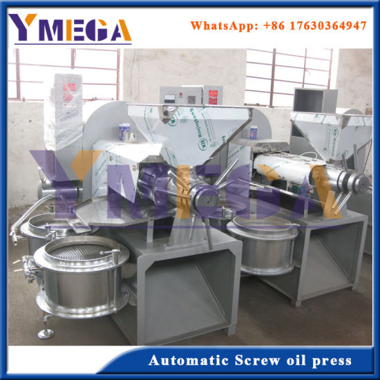 Mustard Oil Press Machine for High Quality Cooking Oil and Oil Cake pictures & photos