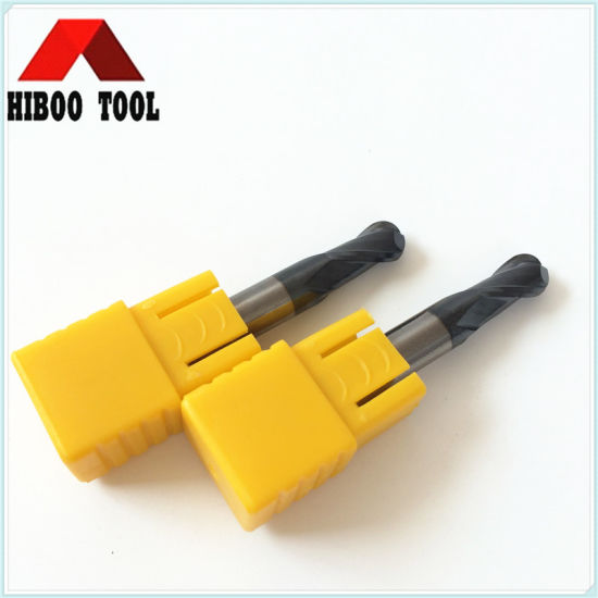 Retail Carbide Ball Nose Milling Cutter with Tialn Coating