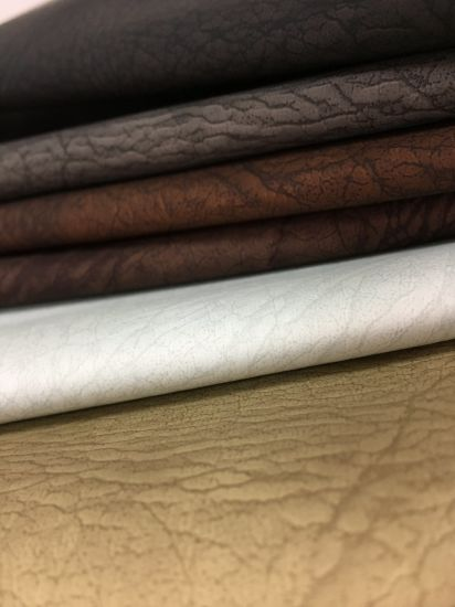 Soft Animal Grain PU Synthetic Leather for Furniture Chair and Sofa-Warren