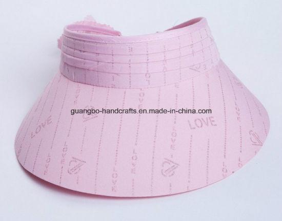 71fb06bd027dd5 China Ladies Wide Brim Sun Visor Women′s Hat Wholesale - China Women ...