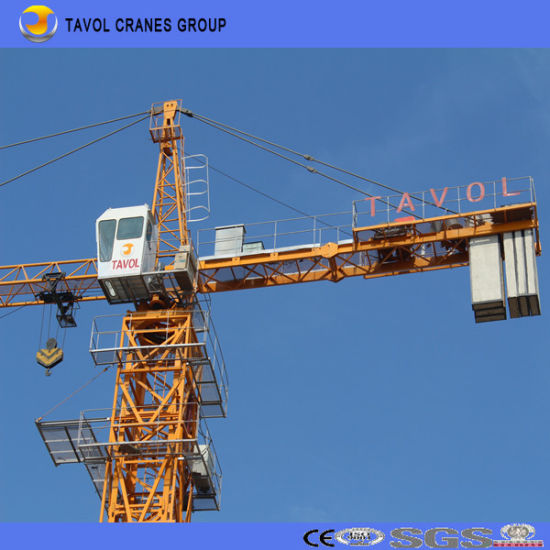 China Building Construction Luffing Crane Tower pictures & photos