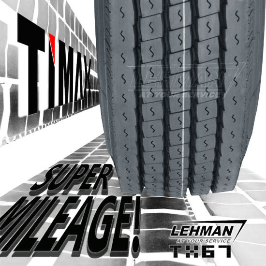 180k Miles Timax DOT Truck Tyres (295/75r22.5 285/75r24.5 11r22.5 11r24.5) pictures & photos