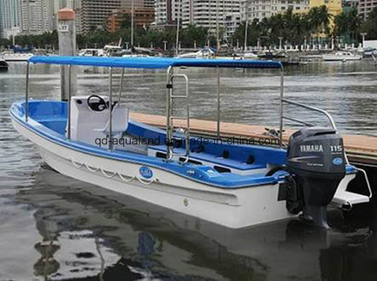 Aqualand 26.5feet 8m Fiberglass Passenger Water Taxi Ferry /Panga Fishing Boat (265c) pictures & photos