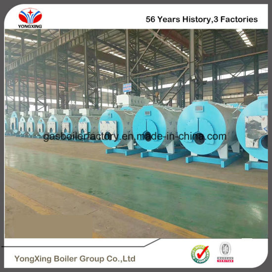 China Industrial Use Boiler Automatic Fuel Gas Fired Oil Diesel ...