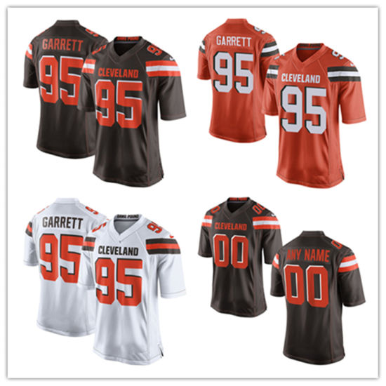 0280dbfa China Men Women Youth Browns Jerseys 95 Myles Garrett Football ...