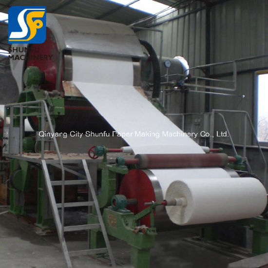 Production of paper making from an
