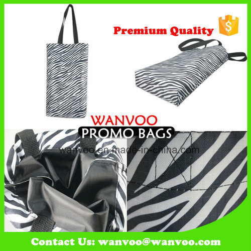 Eco-Friendly Durable Nylon Polyester Shopping Tote Bag Printed Logo pictures & photos
