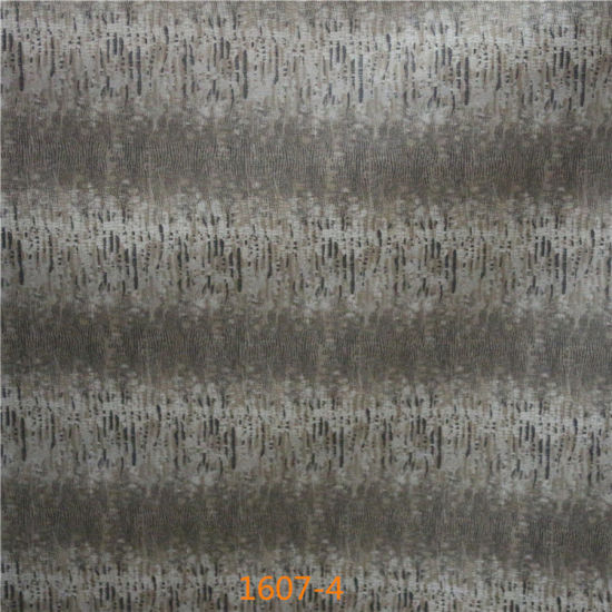 Cotton Backing Technics PVC Synthetic Leather for Trendy Furniture Upholstery pictures & photos