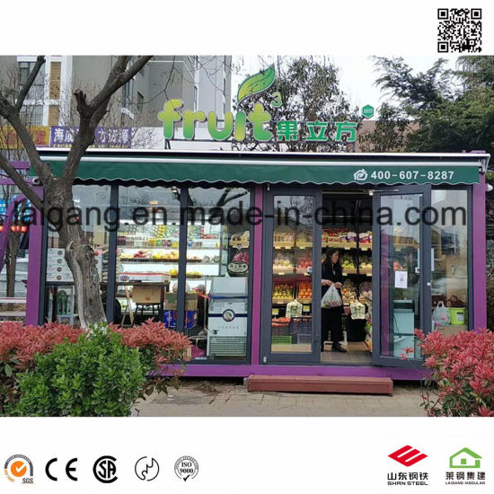 Pop up Container Coffee Bar Restaurant Shipping Container Bar