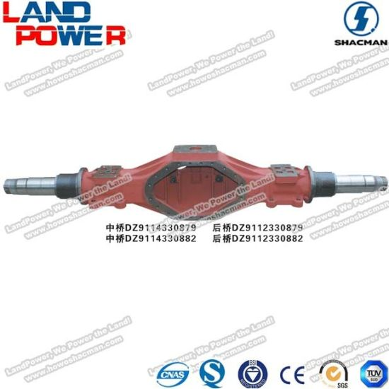 High Quality Rear Axle for Shacman Truck with SGS Certifications