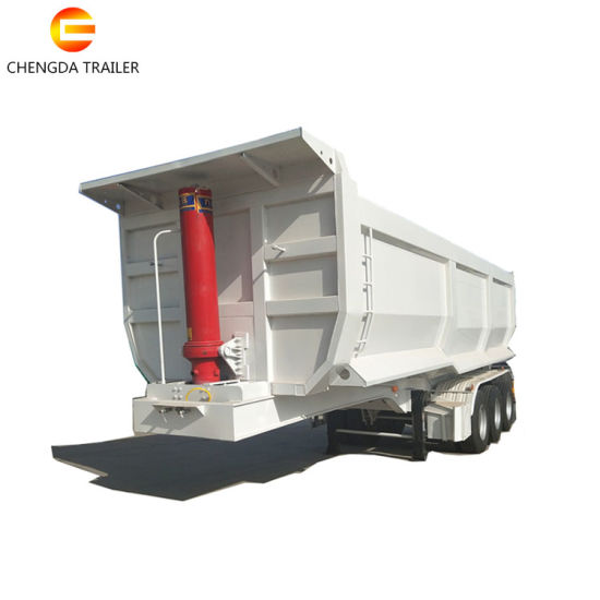 Factory Supply Dumper Semi Trailer Tri-Axle Dump Semi Trailer/Tipping Trailer for Sale pictures & photos