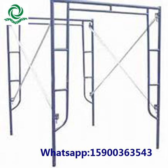 China 1219*1700mm H Frame Walk Through Frame Scaffold - China ...