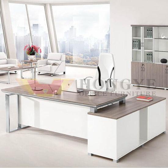 Super Model White Office Luxury CEO Desk (HY-NNH-JT72)