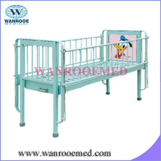 Bam102c Single Crank With Cartoon Picture Pediatric Hospital Bed