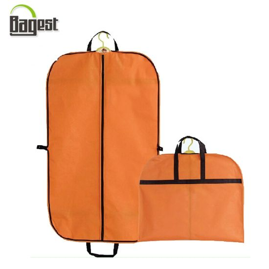 Printed PP Non Woven Fabric Suit Bag