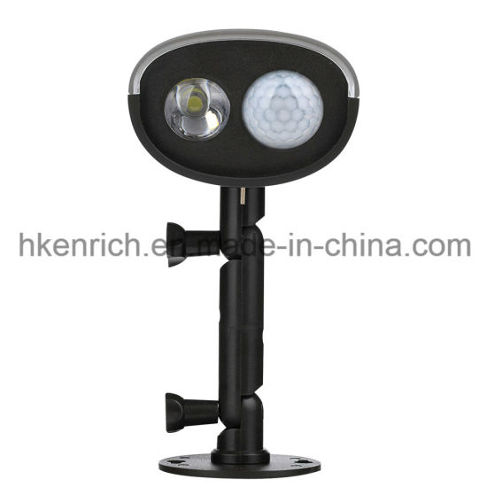 3W Solar Powered Motion Sensor/Light Sensor LED Light pictures & photos