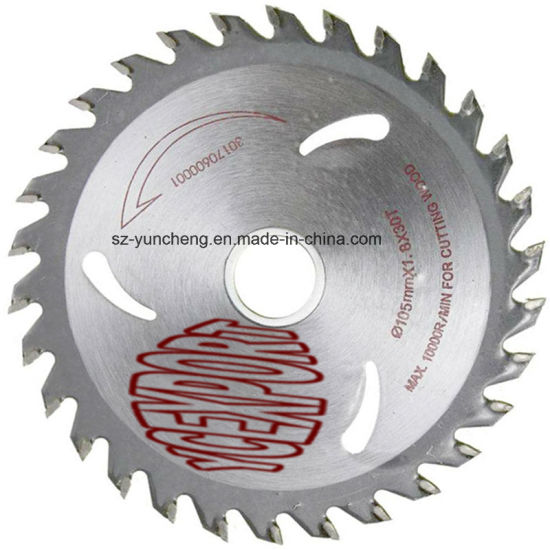 China Circular Saw Blades for Cutting Wood with Tungsten