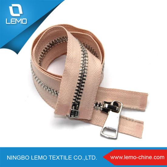 Garments Accessories 8# Metal Zipper for Sale