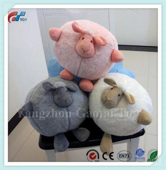 Hot Sale Soft Round Ball Sheep Stuffed Baby Toy