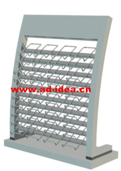 Customized Artificial Quartz Stone Metal Display Rack/Stand/Shelf for Exhibition/ Advertising pictures & photos
