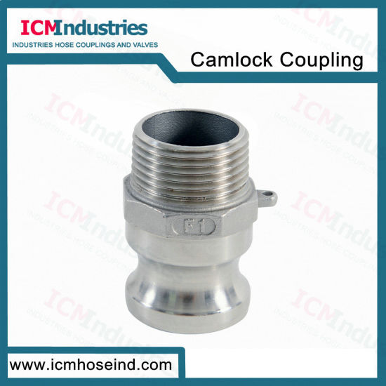 Stainless Steel Type F Threaded Camlock Quick Coupling Adapter