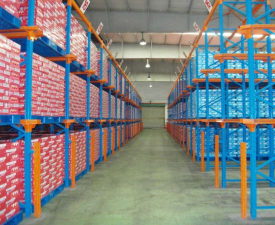 Warehouse Storage Steel Rack Drive in Racking pictures & photos