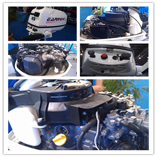 Outboard Gasoline Motor Engine 4HP 4-Stroke pictures & photos