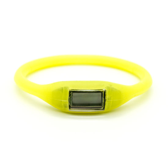 OEM Customized RFID Silicone Wristband Event Laser Engraving Personalized Slap pictures & photos