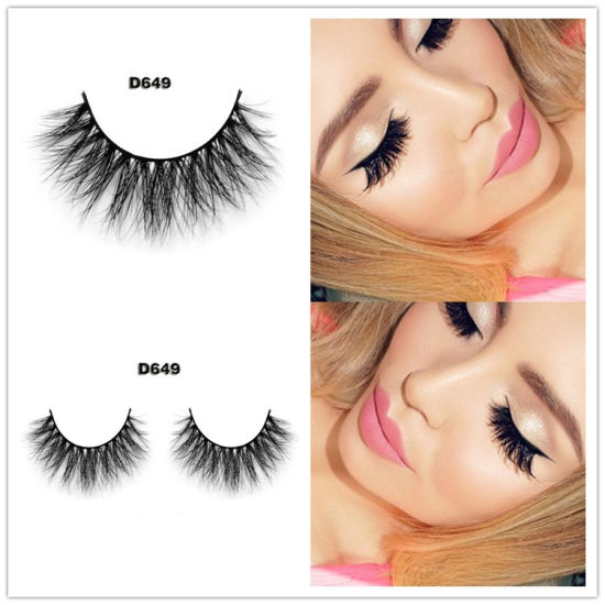 China Own Brand 3D Multi Layered Mink Lashes Wholesale Mink