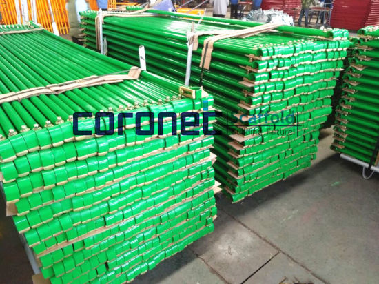 ANSI Building Material Construction High Quality Powder Coated Horizontal Goosers Frame System Scaffold (CSHG) pictures & photos