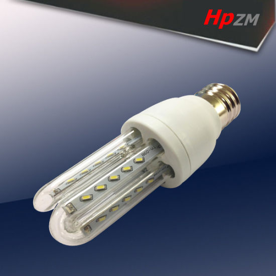 Competitive Price 5W U-Shape LED Bulb with E27/B22 pictures & photos
